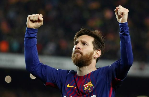 Lionel Messi has been a Barcelona vice-captain since 2015. Photo: Reuters