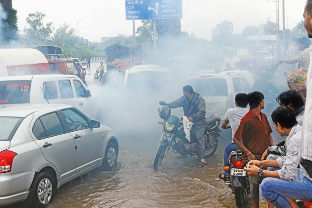 Delhi is among the most polluted cities in the world. Photo: HT
