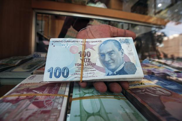 The Turlisk lira slumped over 20% in the last four days