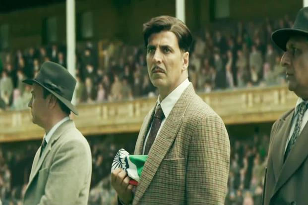 Akshay Kumar in a still from 'Gold'.