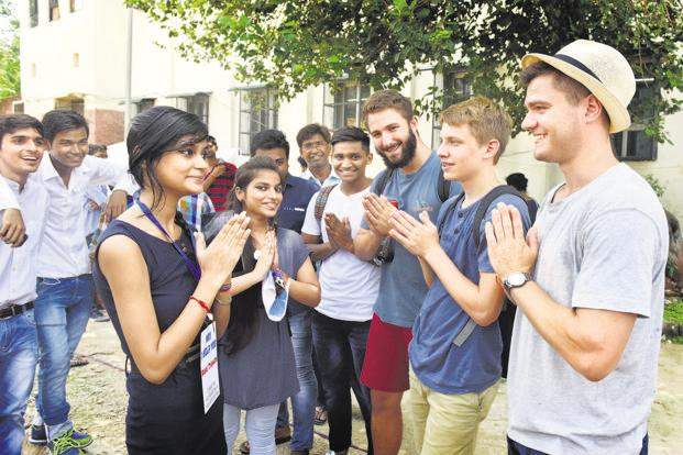 On 1 January 2018, the HRD ministry had informed the Lok Sabha that India had granted 36,887 student visas in 2017, as against 37,947 in 2016. Photo: HT