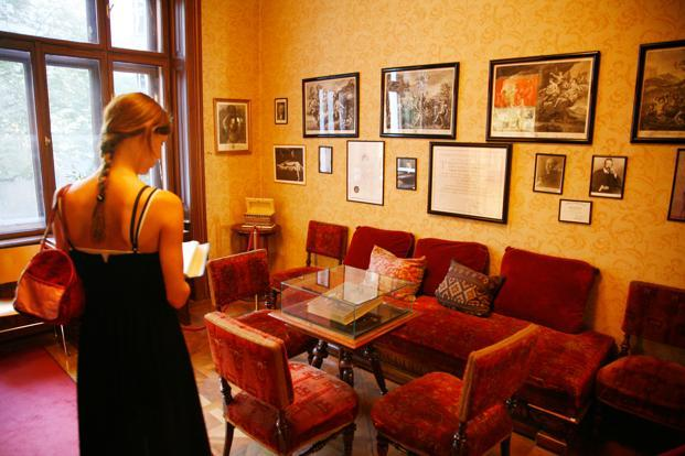 Story of Sigmund Freud's home