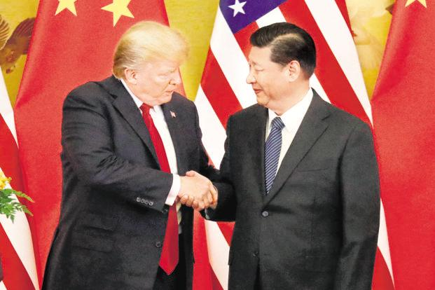US President Donald Trump and China's President Xi Jinping. File photo: Reuters