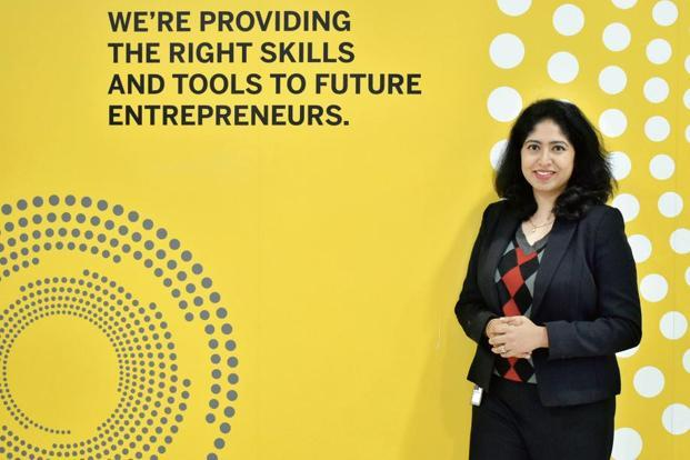 Shraddhanjali Rao, who works in HR at SAP India in Bengaluru, says her job is to cater to the personal and professional needs of employees like Gurugram-based Sudakshina Ghosh by helping them to access courses and other development tools at work. Photo: Jithendra M/Mint