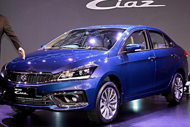 Maruti Suzuki Ciaz Facelift Launched At 8 19 Lakh Livemint