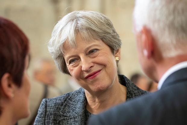 Britain's Prime Minister Theresa May. File Photo: Reuters