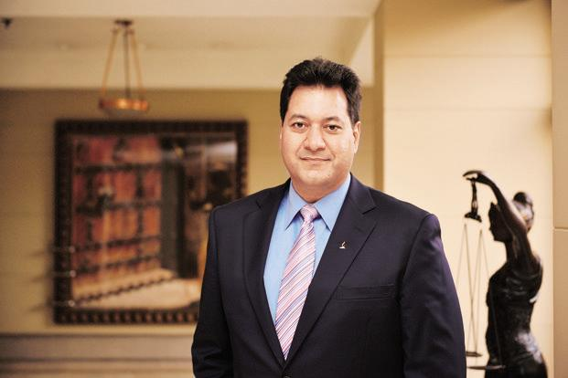 Rajesh Sud, executive vice-chairman and managing director of Max Life Insurance. Photo: Pradeep Gaur/Mint