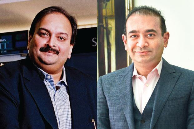 Mehul Choksi (left) and Nirav Modi are at the centre of the $2 billion PNB fraud.