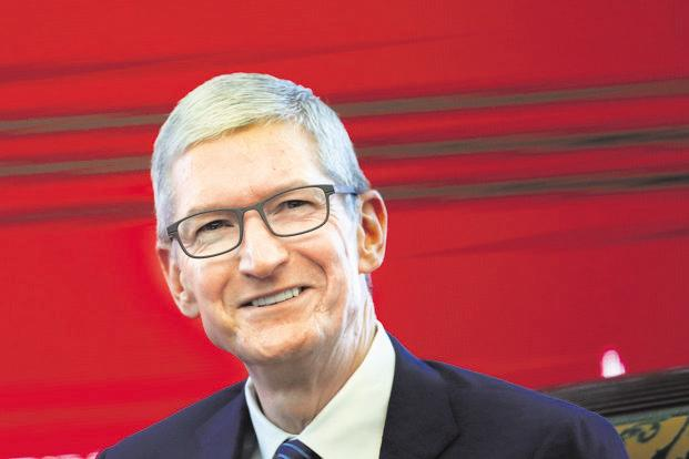 Apple CEO Tim Cook is currently worth around $700 million, according to Bloomberg data. Photo: Reuters