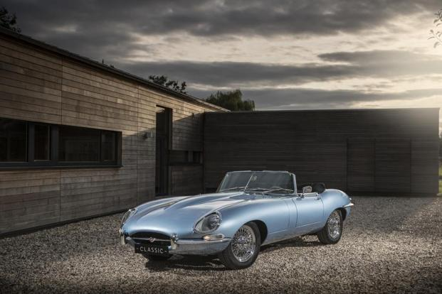 The Latest Jaguar E Type Zero Will Be Shown Publicly Friday At Quail Gathering