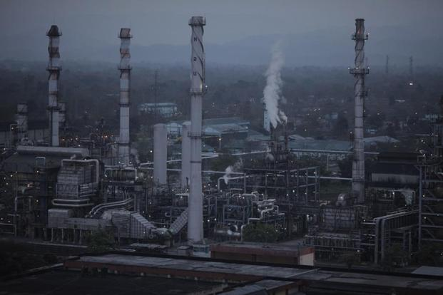 Numaligarh Refinery Limited in Assam. Photo: Bloomberg.