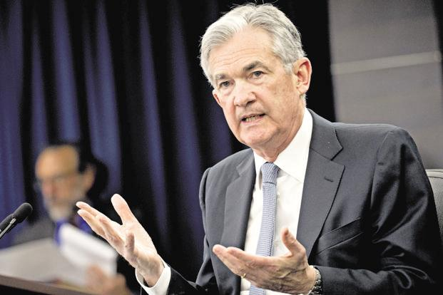 US Federal Reserve chair Jerome Powell. Photo: Bloomberg
