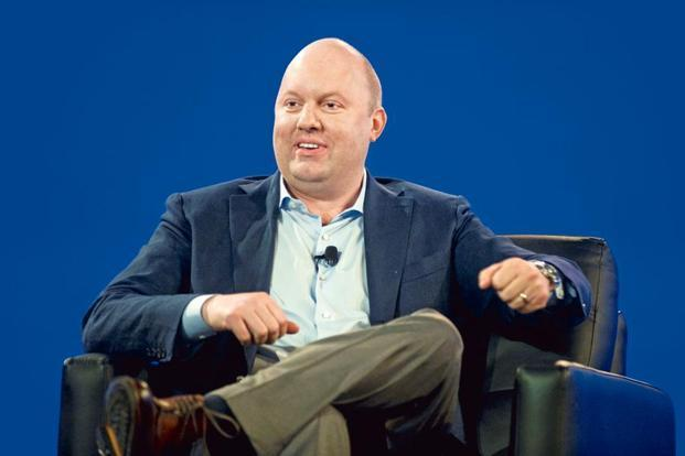 Marc Andreessen, co-founder and general partner, Andreessen Horowitz. Photo: Bloomberg