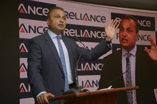 Announcing the culmination of the Adani deal, Anil Ambani said that RInfra is planning to be a zero-debt company by next year. Photo: Abhijit Bhatlekar/Mint
