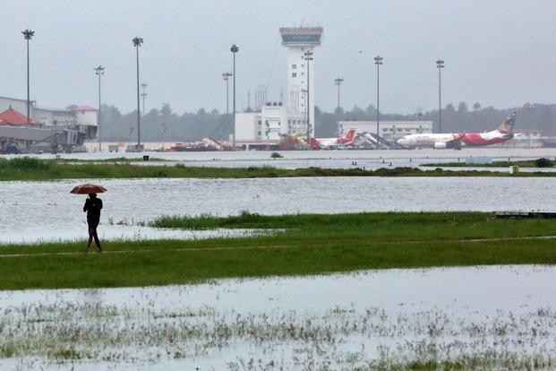 A view of the Kochi airport on 15 August. File photo: Reuters.