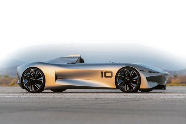 Infiniti S Prototype 10 Is The Rocketeer Of Electric Cars