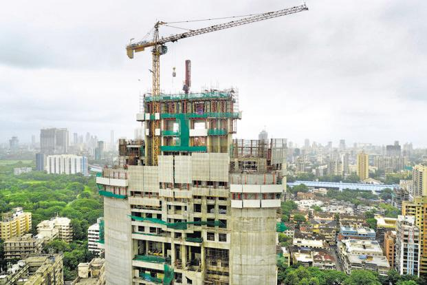 Launches in the uber luxury residential projects segment fell 1% to 194 units in Mumbai in the first half of 2018. Photo: Abhijit Bhatlekar/Mint