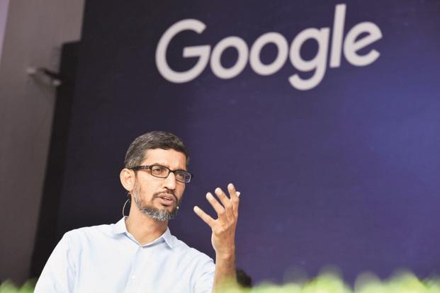 Google CEO Sundar Pichai. Photo: Mint