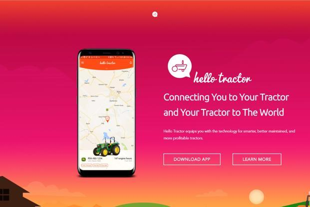 Hello Tractor uses an easy-to-use app to connect users to tractor owners, at a price depending on hours of use and area covered