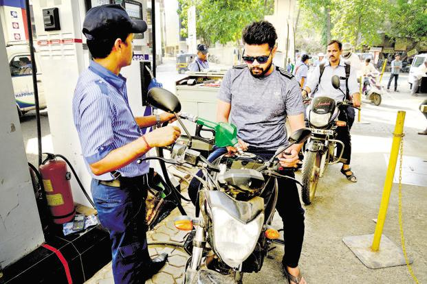 Petrol prices went up by Rs 2.17 per litre since August 16, while diesel rates climbed by Rs 2.62. Photo: Abhijit Bhatlekar/Mint