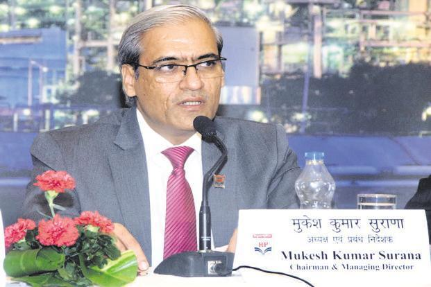 M.K. Surana, chairman and managing director, HPCL.