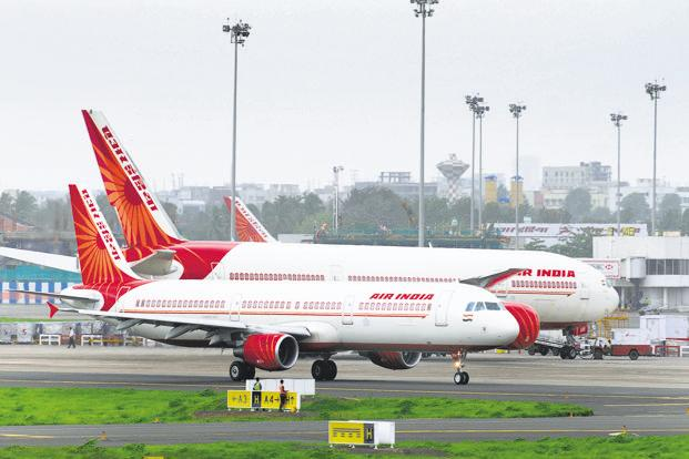 Air India had debts of Rs 48,000 crore at the end of March 2017. Photo: Abhijit Bhatlekar/Mint