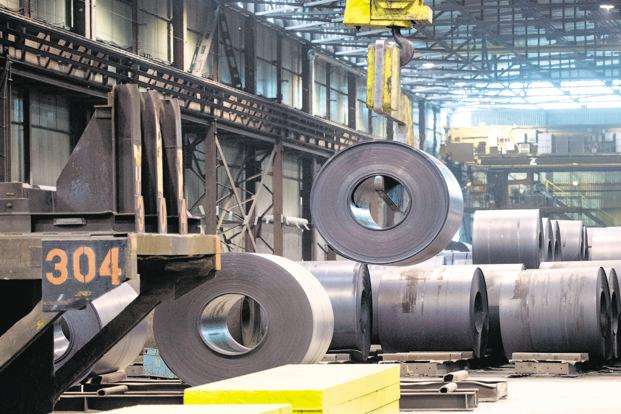 From March 2018 Essar Steel, with its production capacity of 10 million tonnes per year, had an outstanding debt of ₹ 50,786 crore. Photo: AP