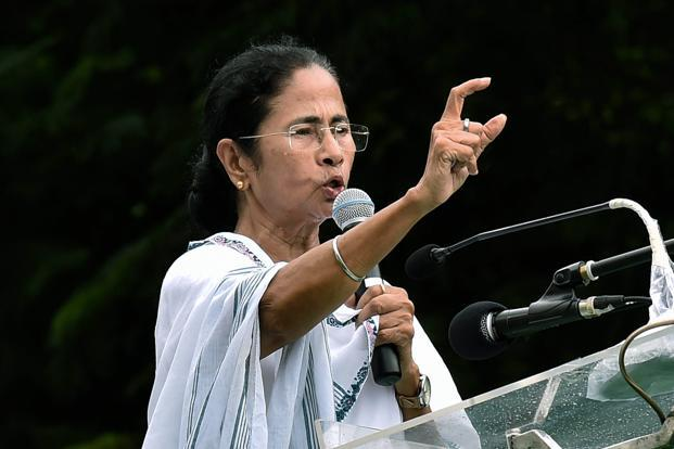 West Bengal CM Mamata Banerjee also announced that community puja organisers will not have to pay fee to the fire department to obtain licence. Photo: PTI