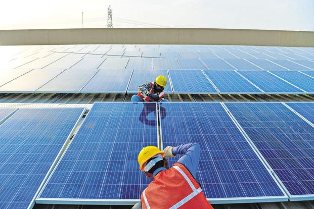 ACME Solar has about 2.3 gigawatts of solar capacity across 13 states. Photo: AFP