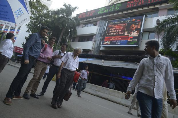 BSE Sensex and NSE's Nifty 50 closed lower on Tuesday. Photo: Abhijit Bhatlekar/Mint