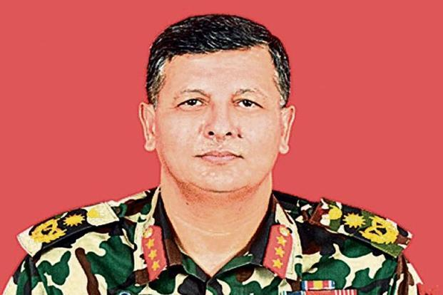 Nepal's new army chief Purna Chandra Thapa.