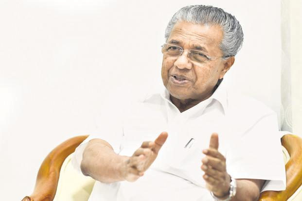 Kerala chief minister Pinarayi Vijayan. Photo: PTI