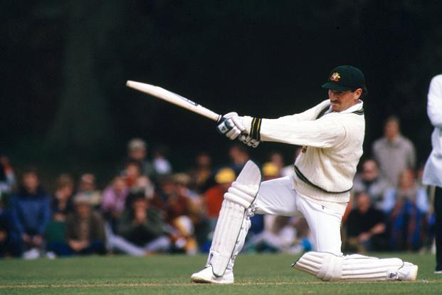 A file photo of former Australian player Allan Border. Photo: Getty Images