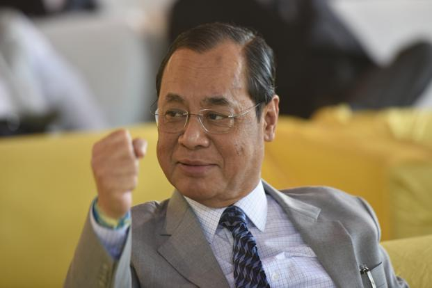 Justice Ranjan Gogoi enrolled as an advocate in 1978. Photo: HT