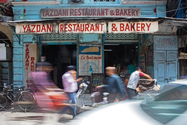 Yazdani is housed in a building which used to be a Japanese bank. Photo: Nayan Shah/Mint