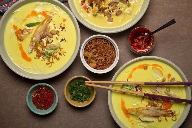 'Khow suey' at Burma Burma restaurant. Photo: Instagram@burmaburmaindia