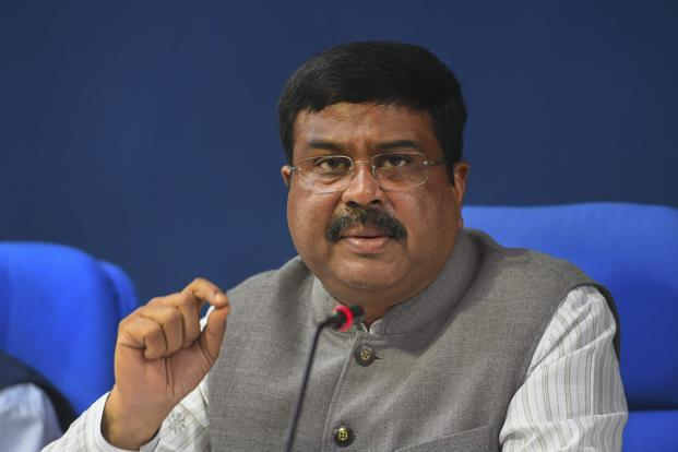 Union minister Dharmendra Pradhan. Photo: PTI