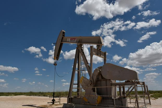US West Texas Intermediate crude was down 15 cents or 0.22 percent at $68.76 per barrel