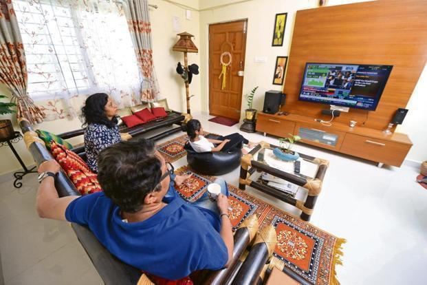 TV penetration in the south is high according to BARC India's Broadcast India 2018 Survey. Photo: Mint