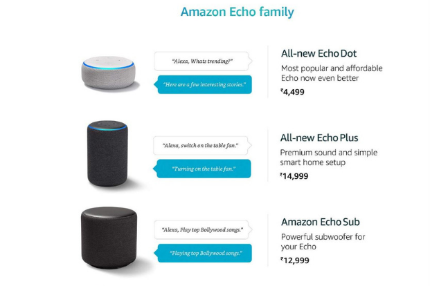 Amazon unveils voice-controlled Echo smart power plug