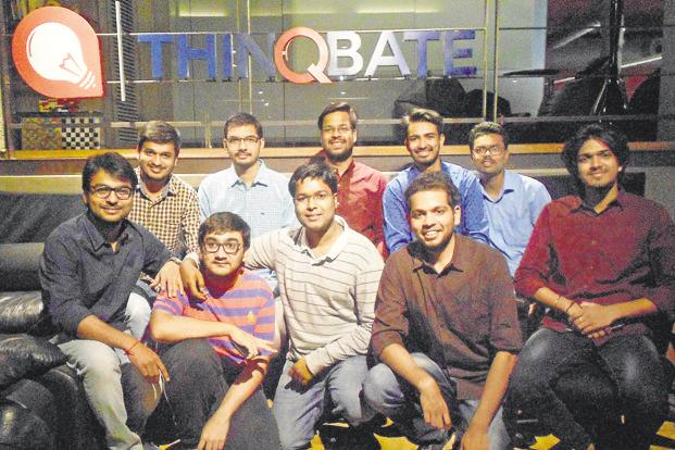 The Faclon Labs team. The start-up uses data mining technologies to automate water management in cities.  - Faclon Labs kv7  621x414 LiveMint - Internet of Things (IoT) startups that improve efficiency