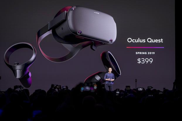 Oculus Quest All-in-One VR gaming system costs $399