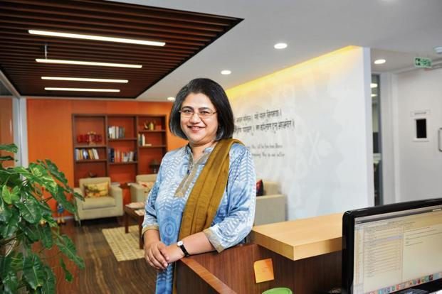 Omidyar India partner and managing director Roopa Kudva.  Photo: S. Kumar/Mint