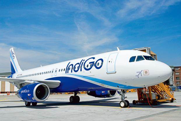 IndiGo is the country's largest airline by market share and operates an average of over 1,000 flights per day.