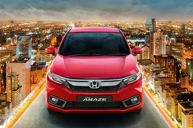 A total of 38,716 Honda Amaze cars were sold in April-August 2018, compared with 9,386 cars a year earlier. Photo: Honda Cars India website