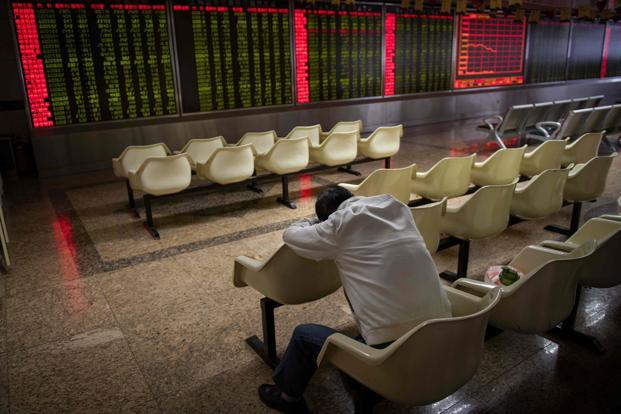 The MSCI Asia Pacific Index headed for its worst day since June 2016. Photo: AFP