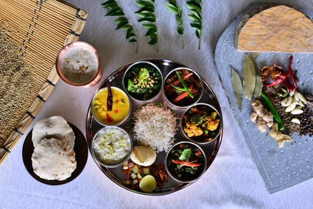 It's all in the thali