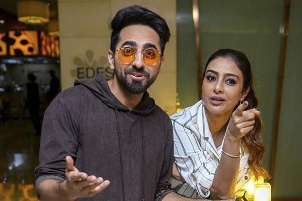 The big Hindi film winner this weekend was director Sriram Raghavan's crime thriller Andhadhun that spilled over from its release last week to make Rs 13.50 crore this weekend, taking its total box office collections to Rs 40.87 crore. Photo: PTI