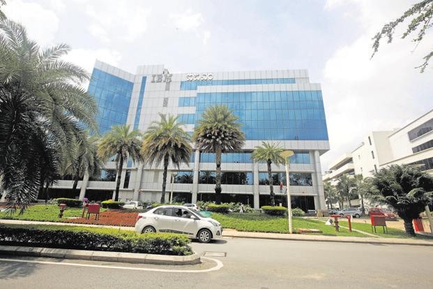 Embassy Golf Link Business Park in Bengaluru. Embassy Office Parks expects to list its investment vehicle next year. Photo: Ramegowda Bopaiah/Mint