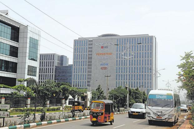 Tishman Speyer, which developed WaveRock complex in Hyderabad, is looking to exit the project. Photo: Kumar/Mint